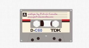 casette tape design