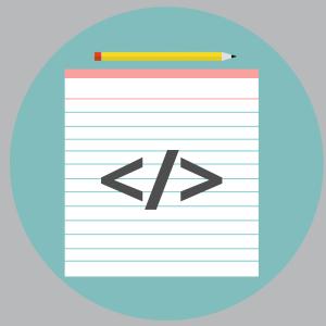 Scratch pad icon