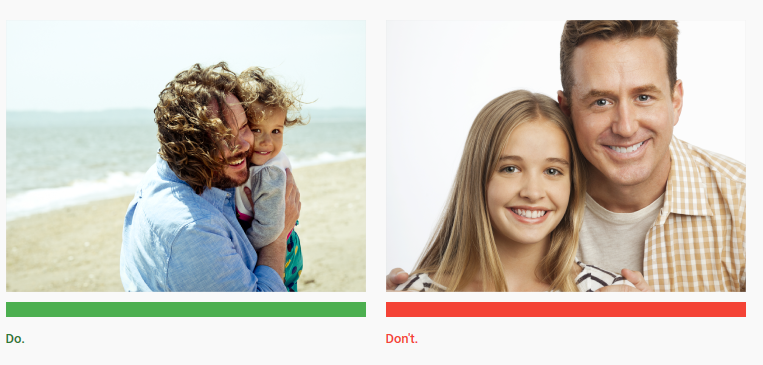 do vs dont stock images