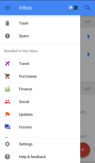 google inbox 4