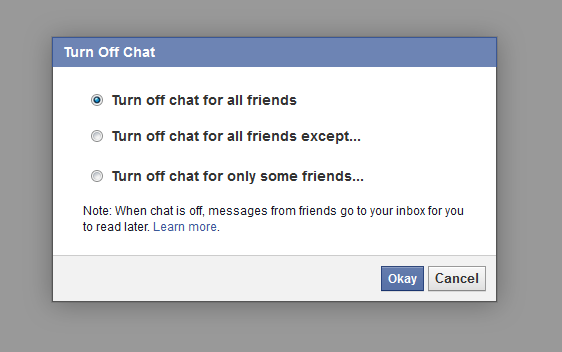facebook turn off chat desktop browser