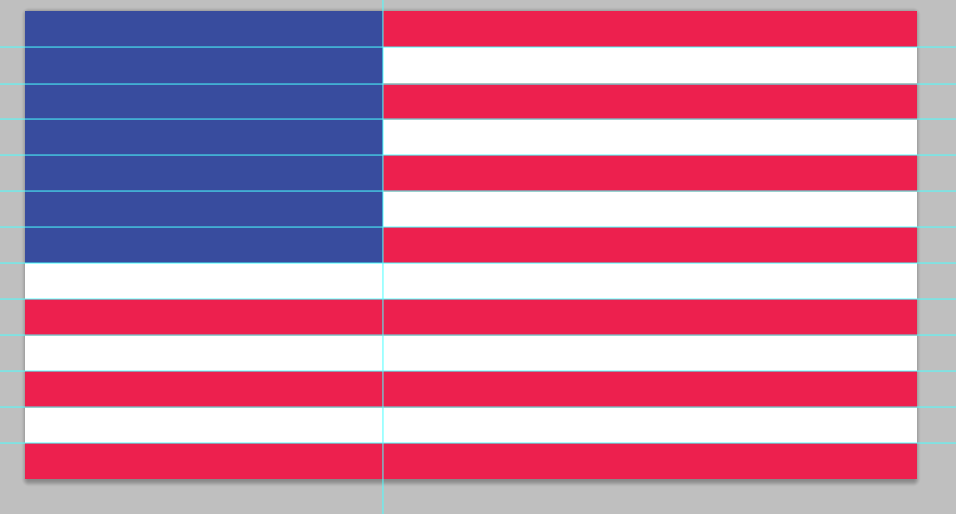 stars and stripes PSD design