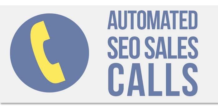 seo sales calls