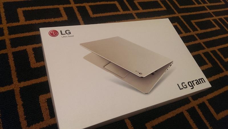 lg gram box