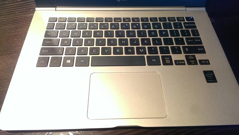 lg gram keyboard
