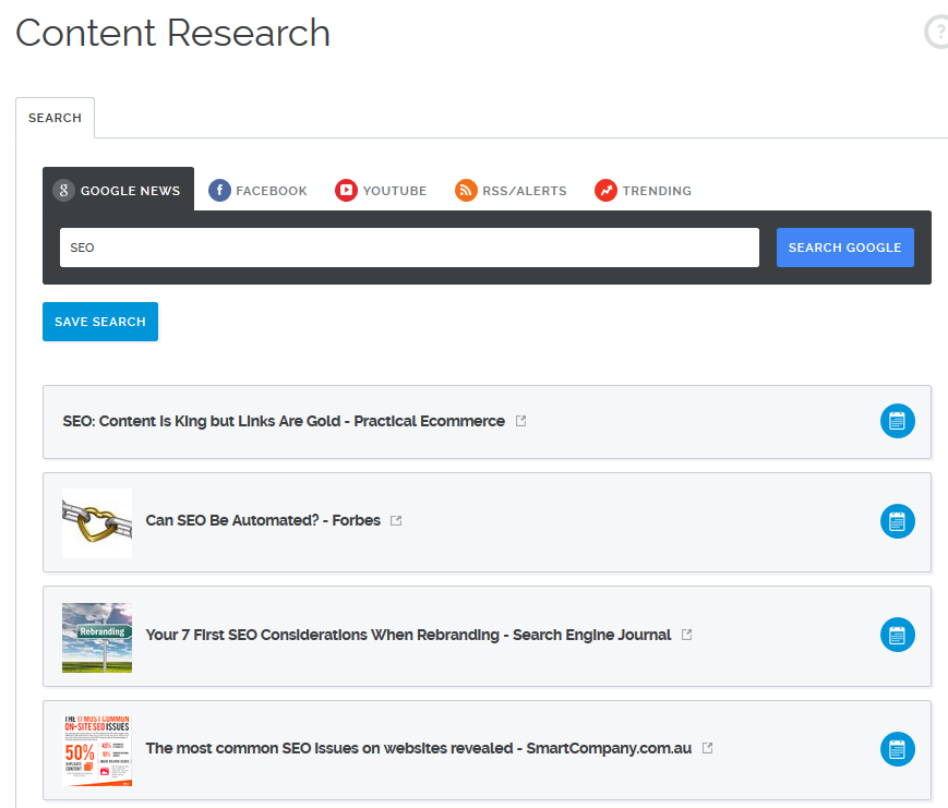 14 content research