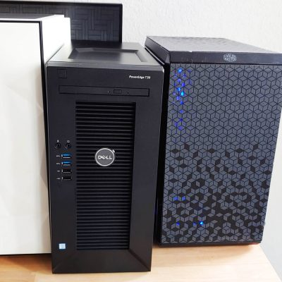 Dell PowerEdge t30 Server with UNRAID NAS